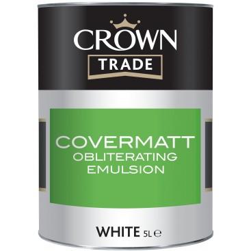 Peinture Crown Trade Covermatt Emulsion