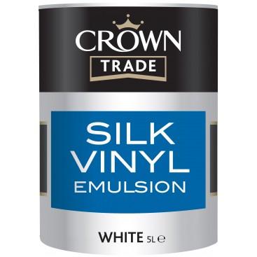 Peinture Crown Trade Silk Vinyl Emulsion