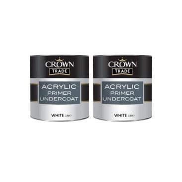 Primer acrylique blanc pour plafonnage et gyproc