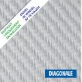 Fibre de verre toile Diagonale