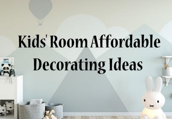 Idées de décoration pour chambre d'enfant à prix abordable