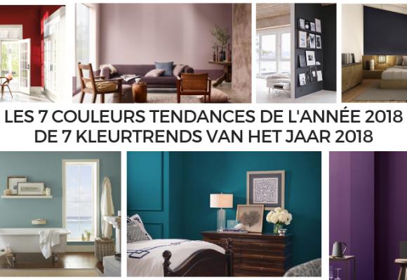 Peintures intérieures : les 7 couleurs tendances de l'année 2018