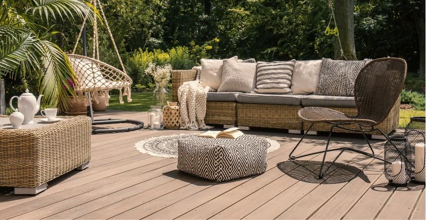 Conseils d'entretien pour une terrasse en bois